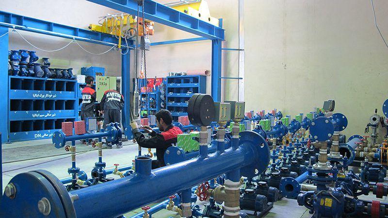 تولید بوستر پمپ آب