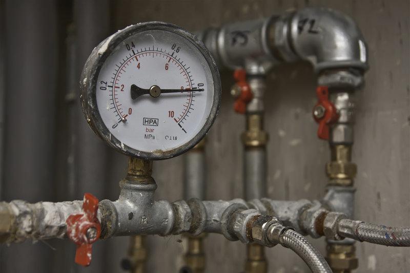 اندازه گیری فشار آب